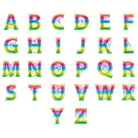 s c u b a: abstract design of alphabets