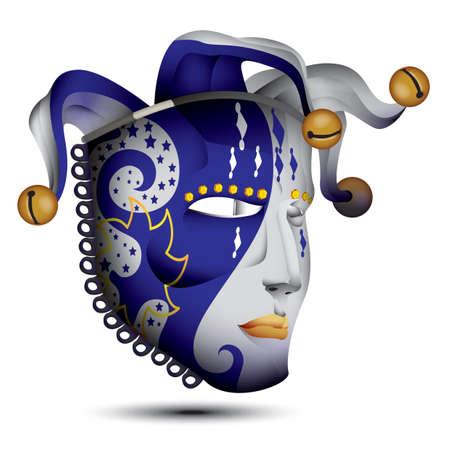 venetian mask Illustration