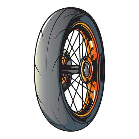 alloy wheel: racing tire