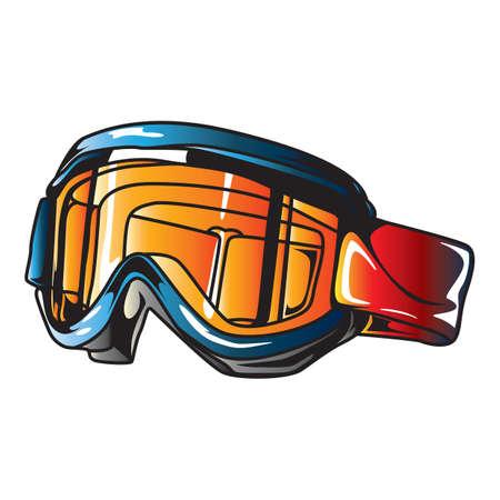 goggles: racing goggles