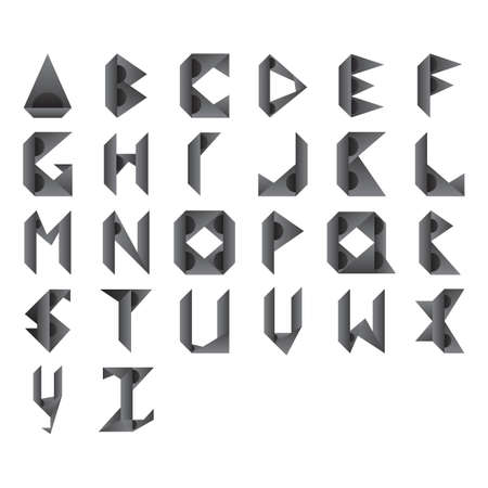u s: abstract design of alphabets