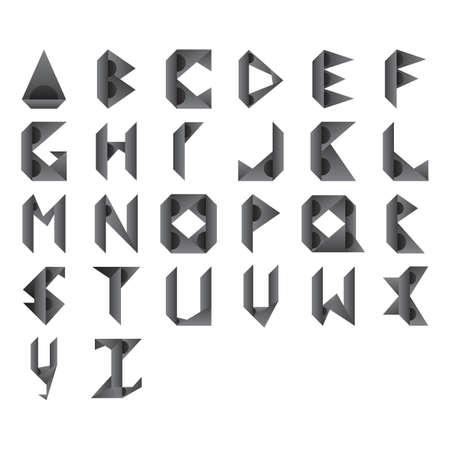 d a r e: abstract design of alphabets