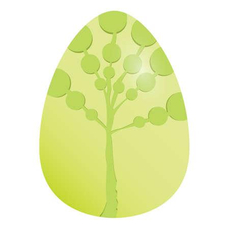 egg plant: easter egg