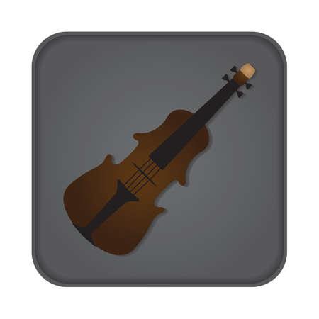 stringed: violin Illustration