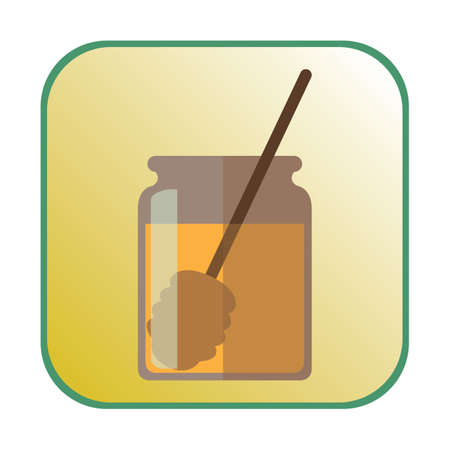 stick insect: honey and stick Illustration