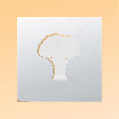 paper cutout: paper cutout tree