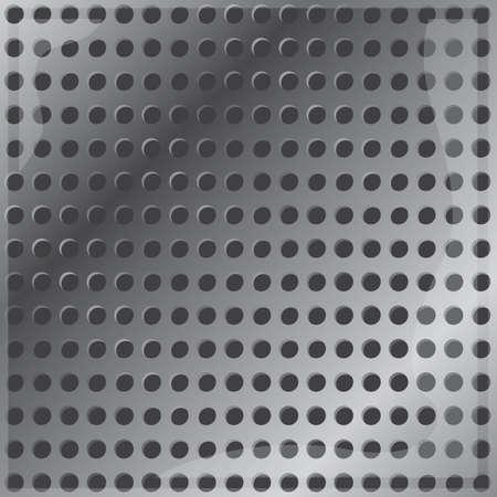 metallic background: metallic dots background