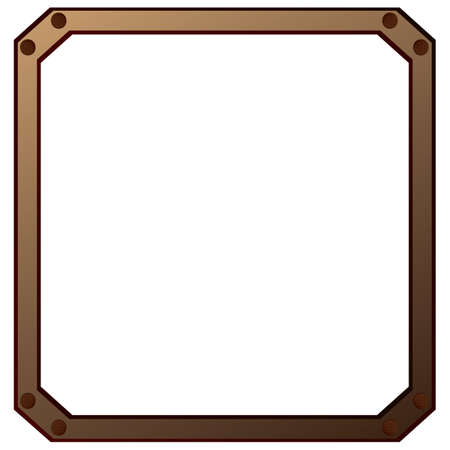 rectangular: rectangular frame