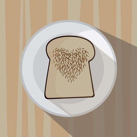 slice: bread slice