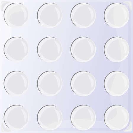 metallic: metallic circles background