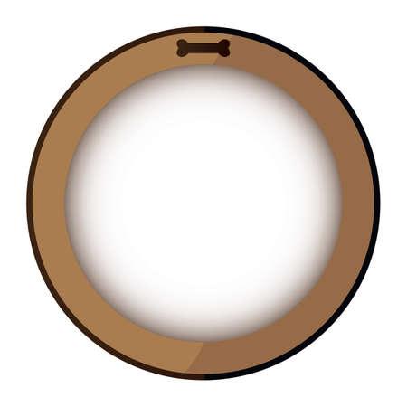 round: round frame Illustration
