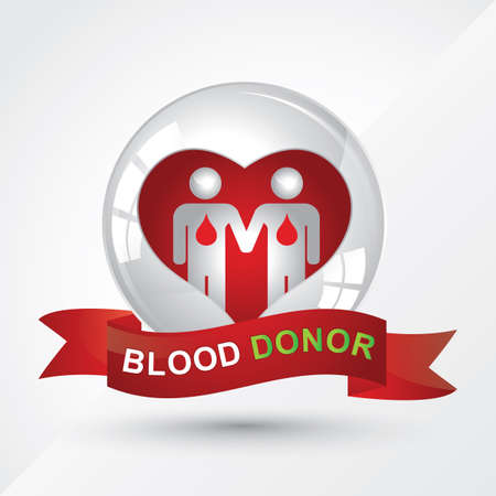 donor: blood donor banner