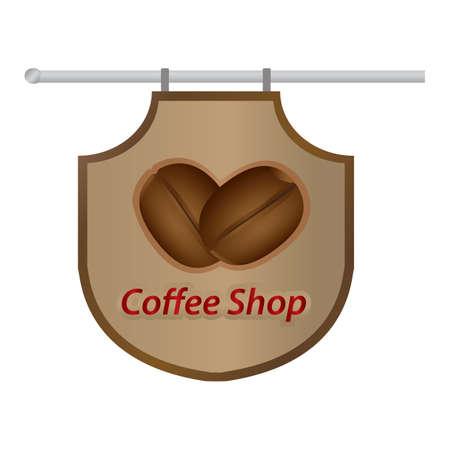 shop sign: coffee shop sign