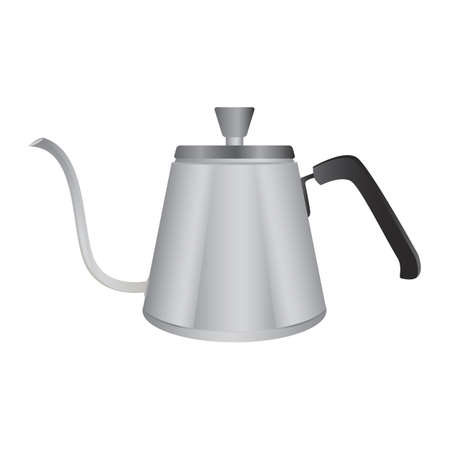 metal: metal kettle Illustration