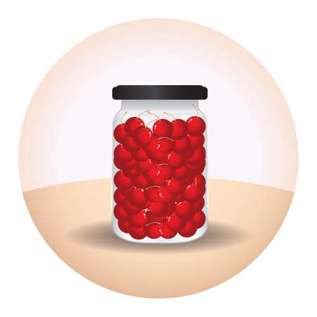 arandanos rojos: tarro de ar�ndanos