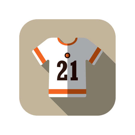 jersey: football jersey Illustration