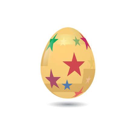 creative egg painting: easter egg