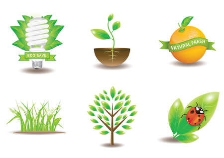 saplings: collection of ecology icons