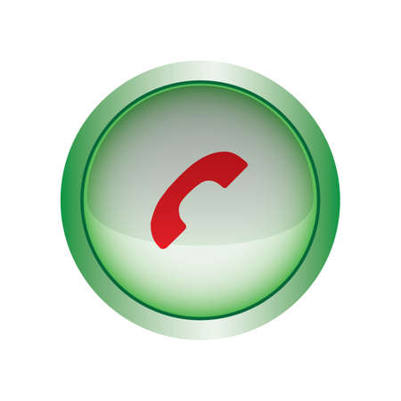 end user: end call button