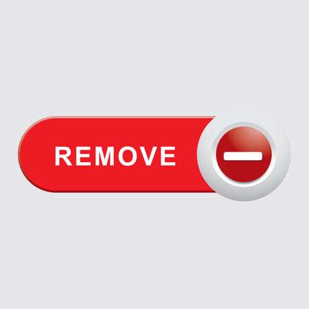 remove button