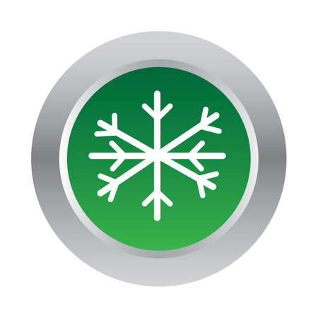 mas: snowflake button