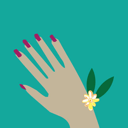 manicure: manicure Illustration