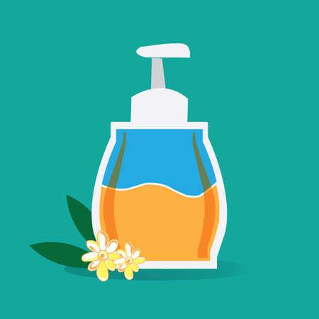 liquid soap: liquid soap Illustration