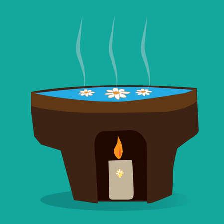 burners: oil burner Illustration