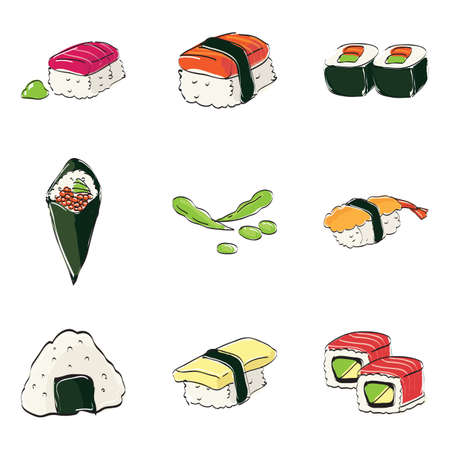 nori: japanese traditional cuisine collection