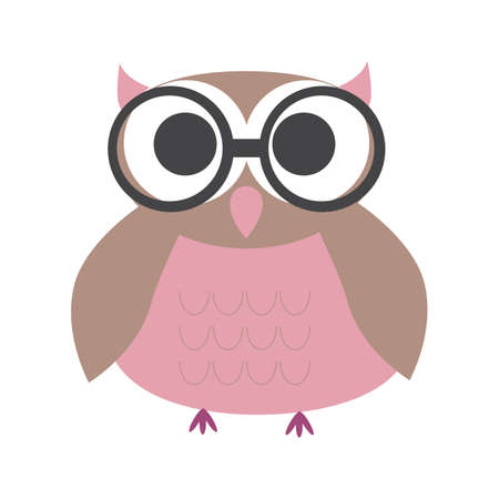 spectacles: owl with spectacles