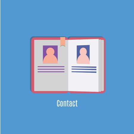contacting: contact book
