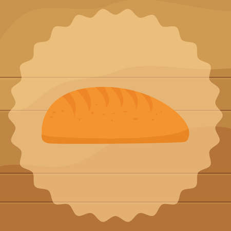 bread roll: bread roll Illustration