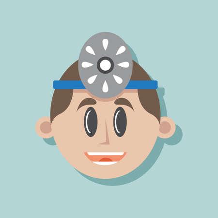 orthopedics: dentist Illustration