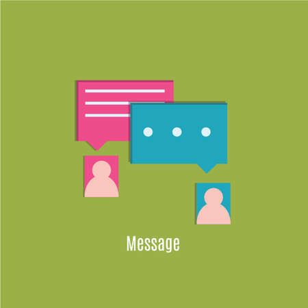 message: message icon