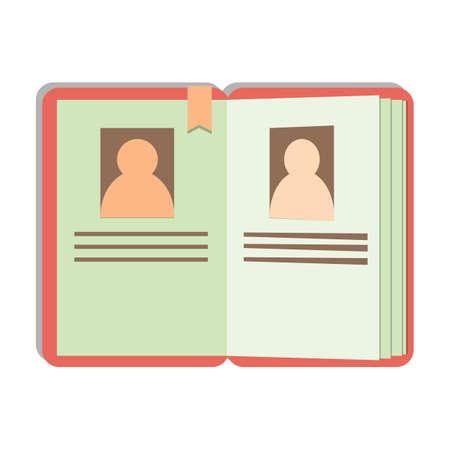 contact: contact book