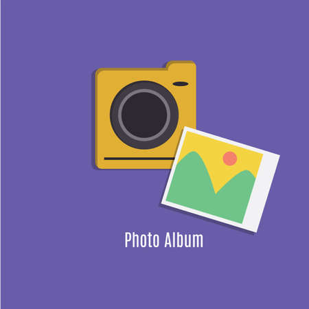 photo: photo icon Illustration