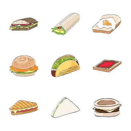 binge: sandwich collection