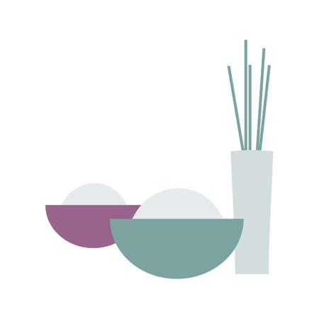incense: facial bowl and incense sticks
