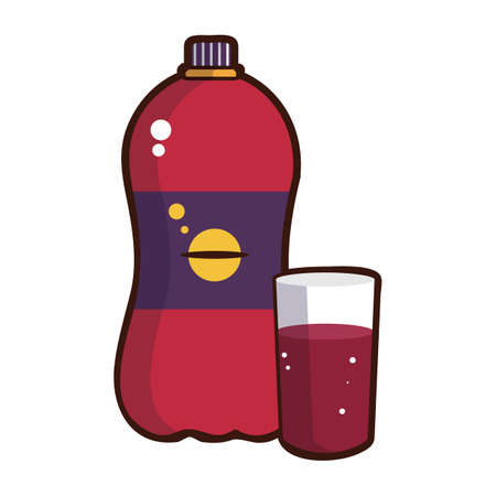 carbonated: carbonated drink Illustration