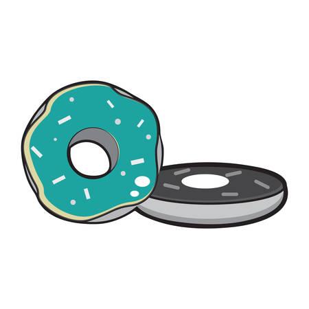 coating: doughnut with flavoured coating