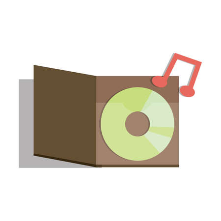 the music: music icon Illustration
