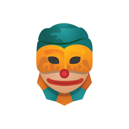 jester: person wearing jester mask