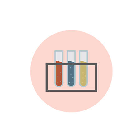 a solution tube: test tubes in the rack