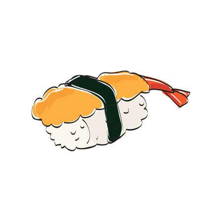 nori: sushi Illustration