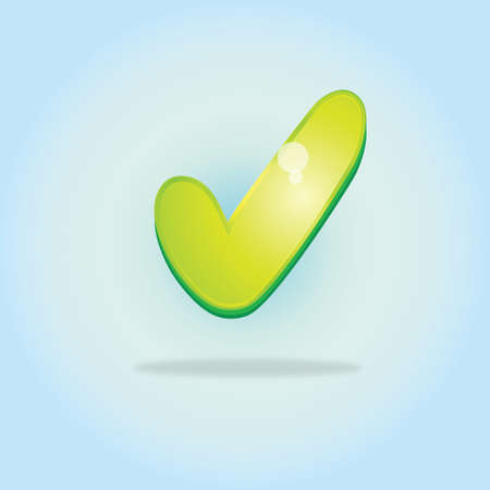 conform: check mark icon Illustration