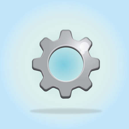 settings: settings icon Illustration