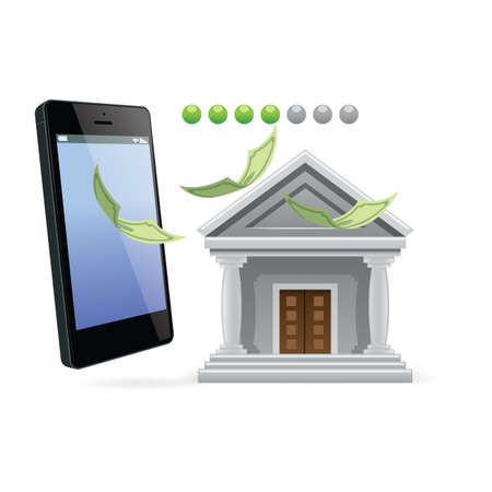 banking concept: online banking concept