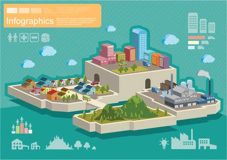 poblacion: infografía de población Vectores