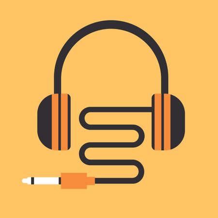 earbud: headsets Illustration