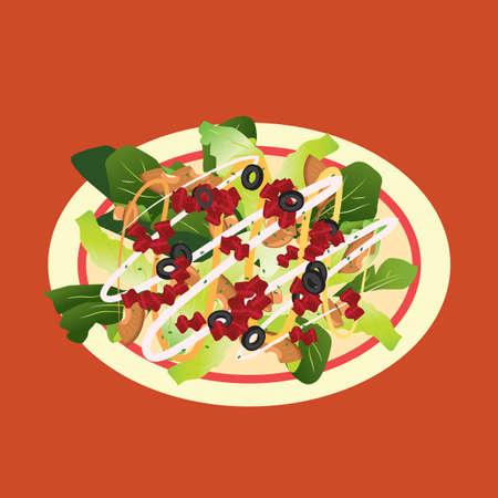 greens: salad